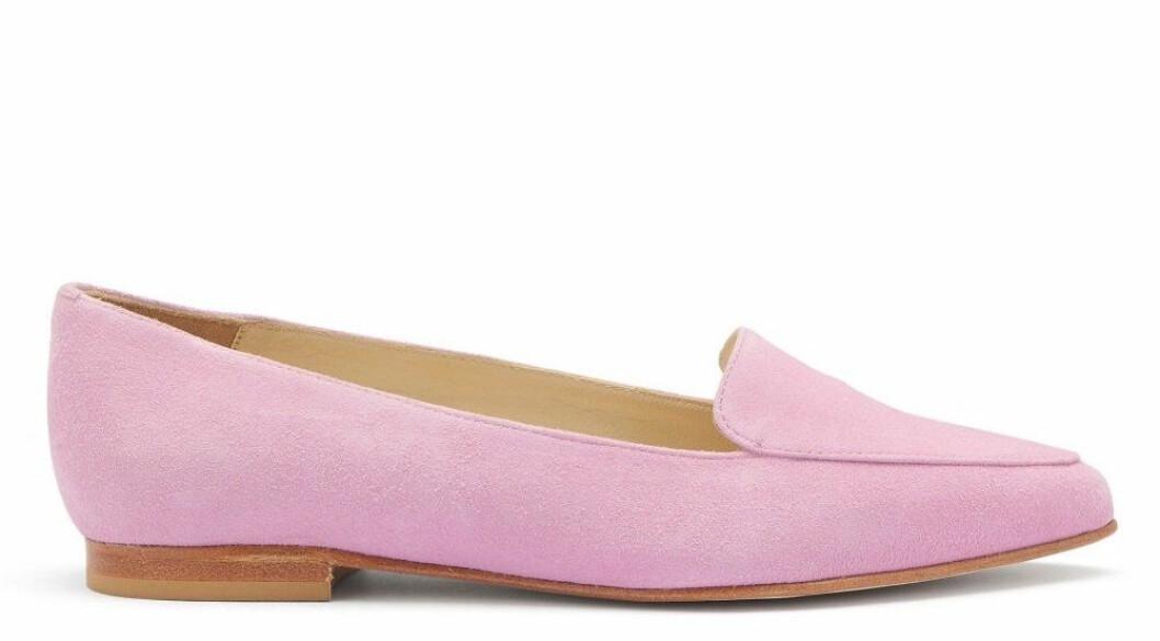 Rosa loafers till våren 2019