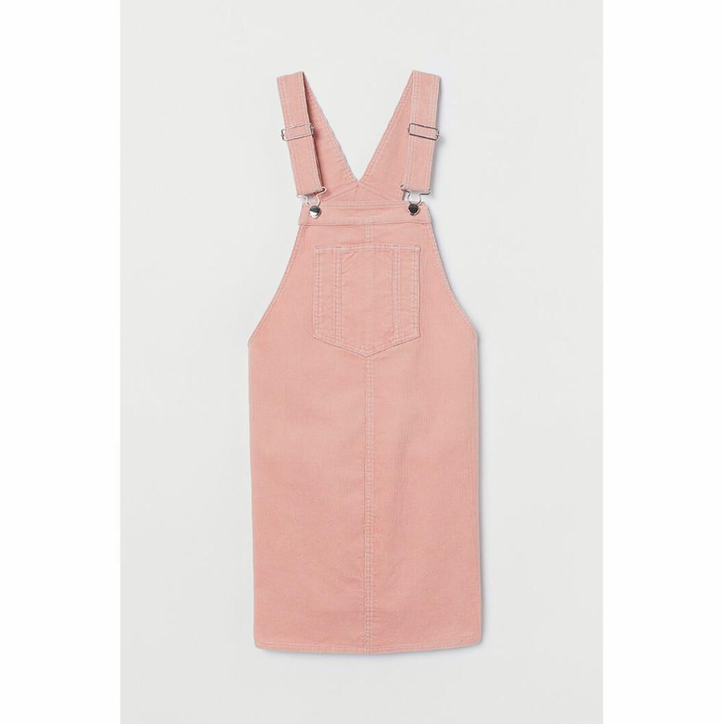 Rosa manchesterklänning för gravida