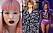 vårens hårtrender 2017 rosa hår