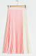 Rosa plisserad kjol till sommaren 2019