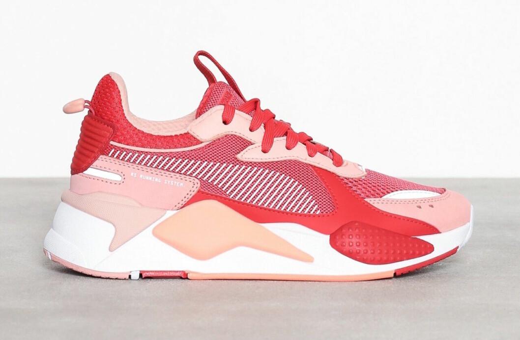 Rosa chunky sneakers till våren 2019