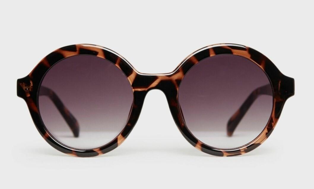 Runda solglasögon med stora bågar för dam till 2020