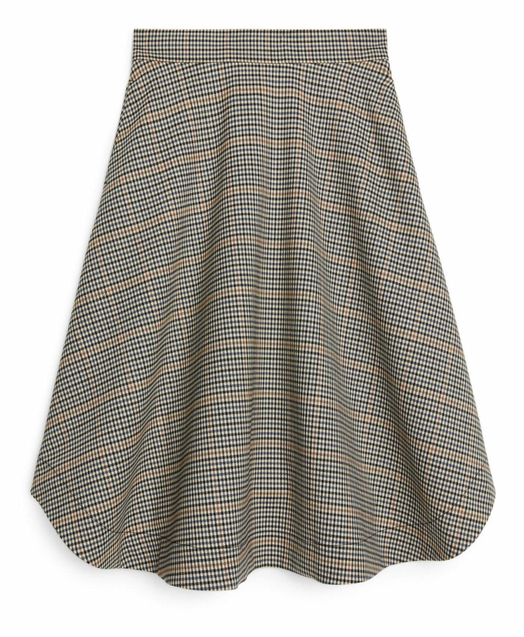 Rutig kjol