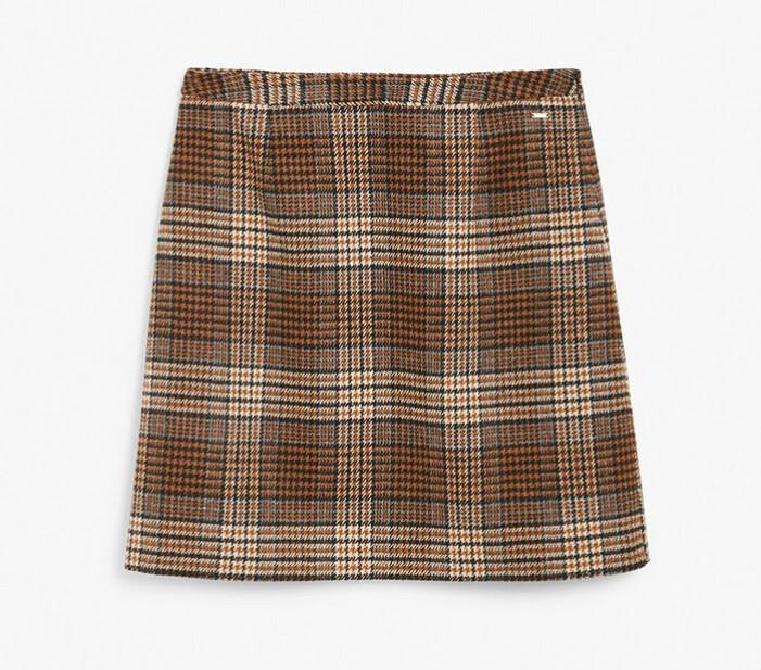 Rutig kjol från Kappahl
