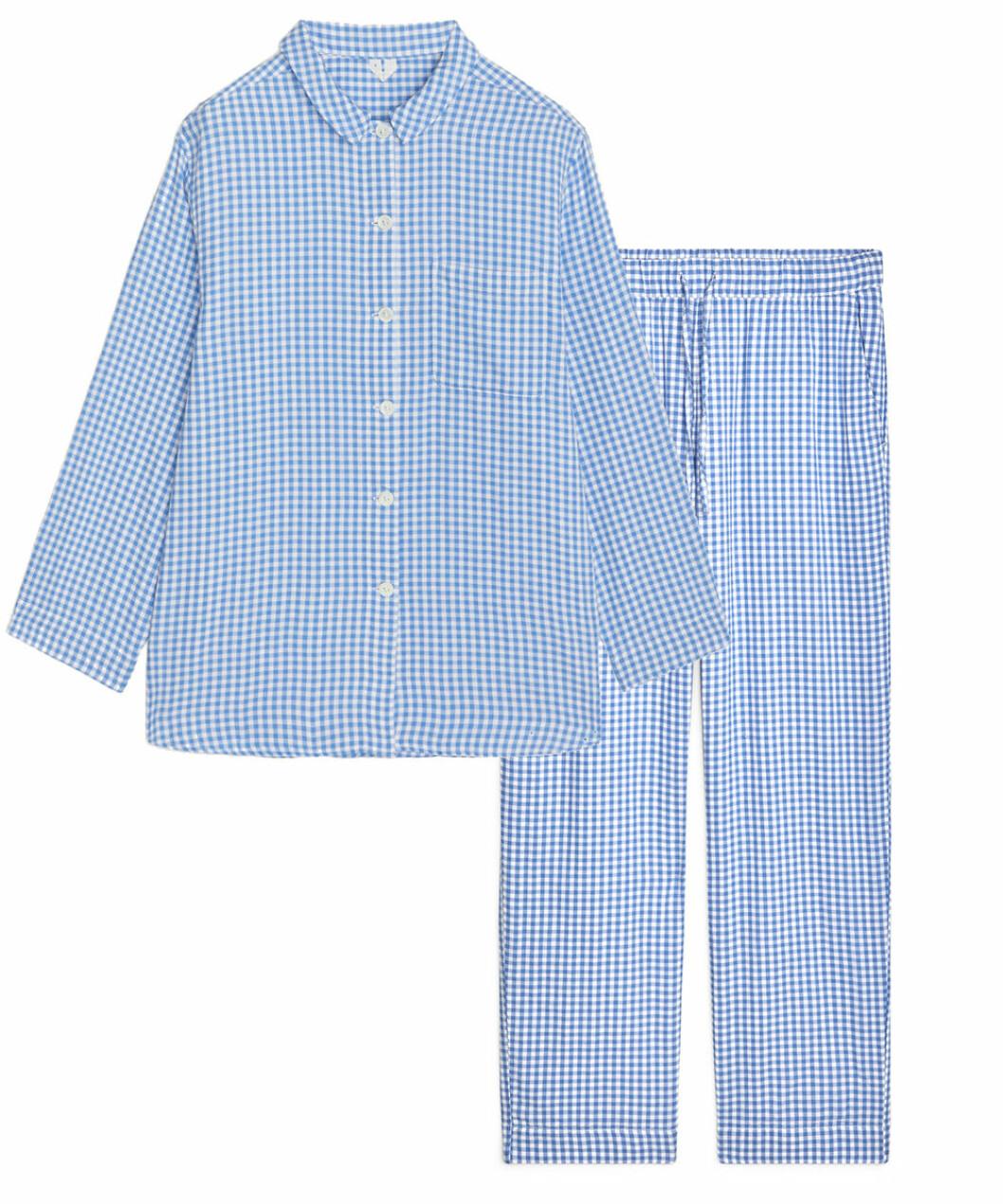 Rutig pyjamas till vintern 2018