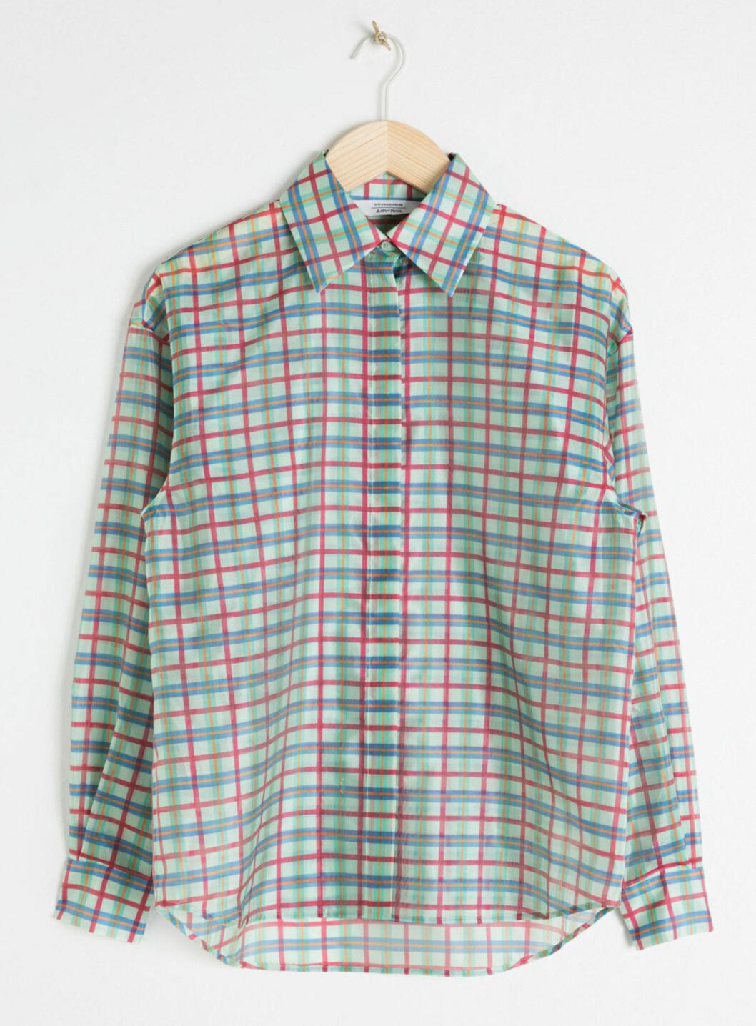 Rutig skjorta