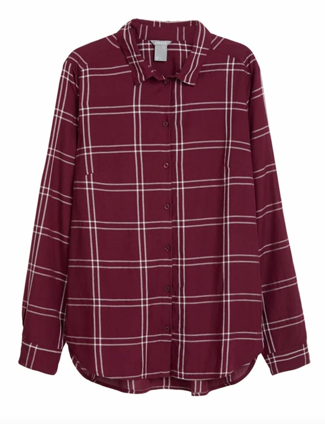 Rutig skjorta till hösten