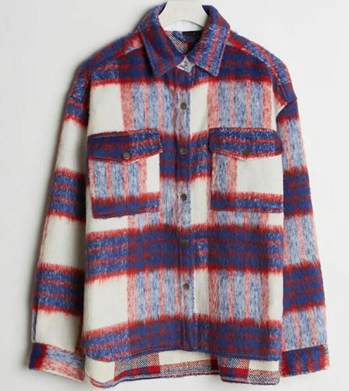 rutig skjortacka