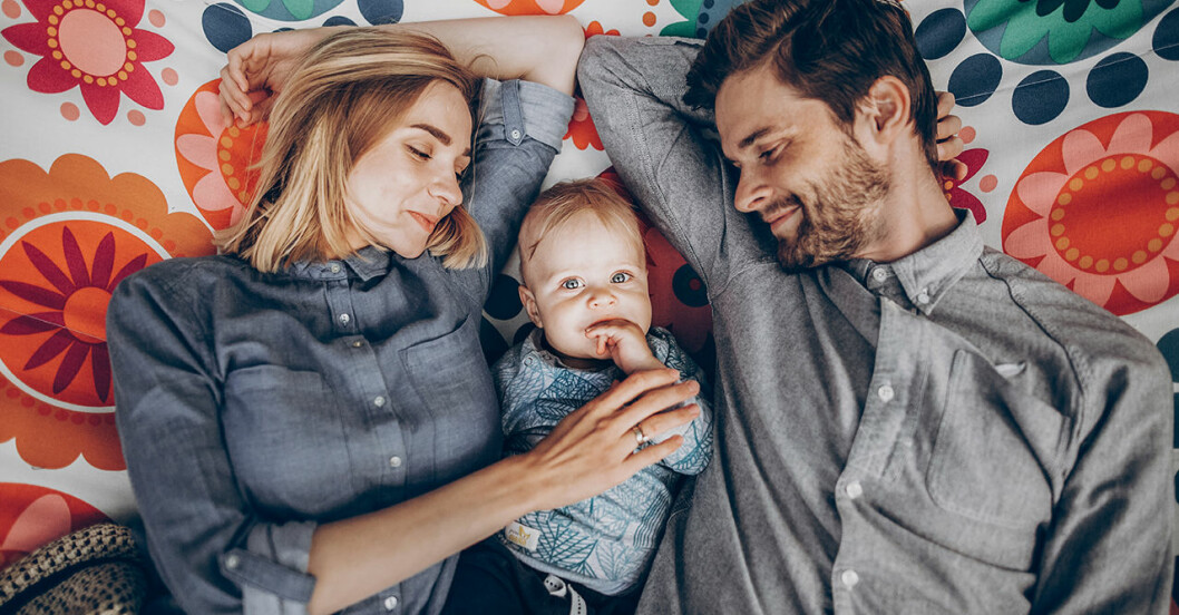 Så bra tycker svenska föräldrar att de är på att vara föräldrar