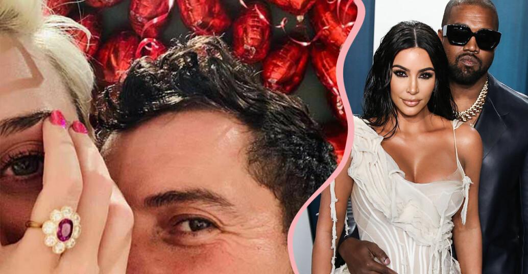 Katy och Orlando och Kim och Kanye