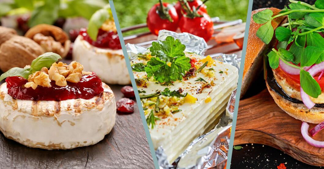 Så grillar du ost – tips och recept
