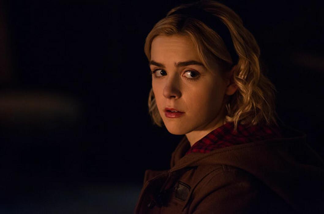 En bild på karaktären Sabrina i Netflix-serien med samma namn.