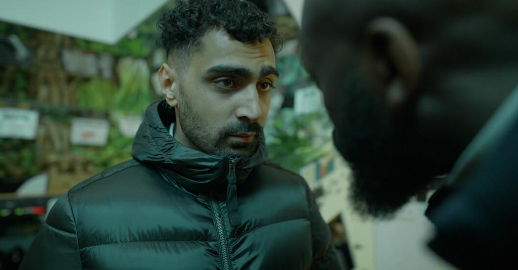 Salim i Snabba cash spelad av Alexander Abdallah