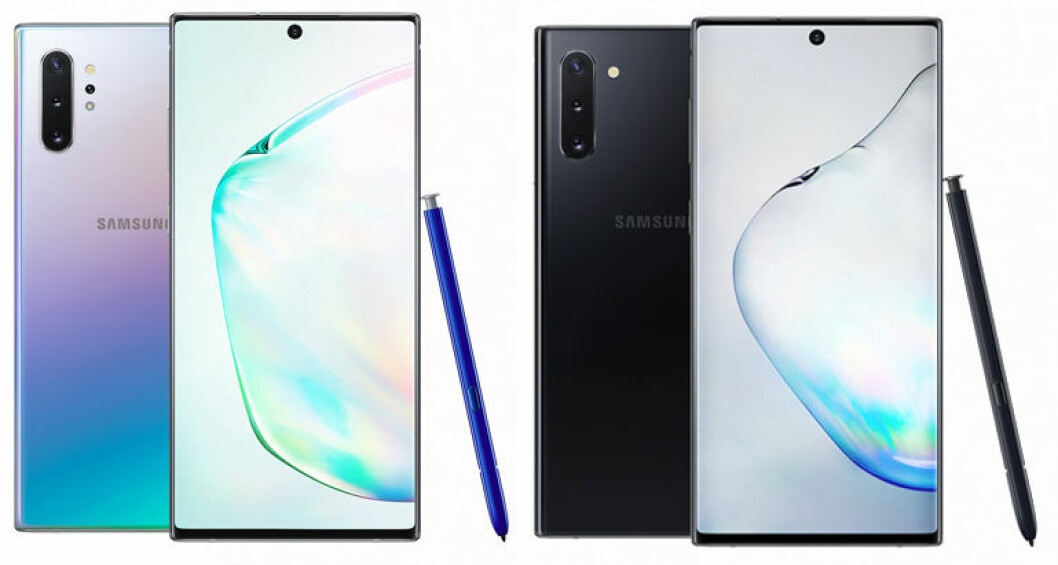 Samsung Galaxy Note 10 – färger