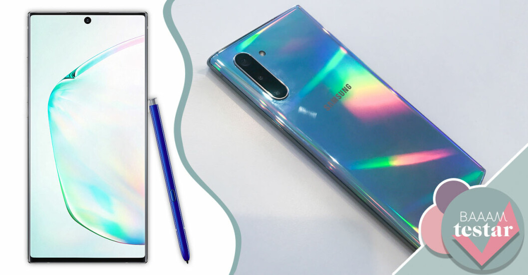 Samsung galaxy note 10 – Baaam testar