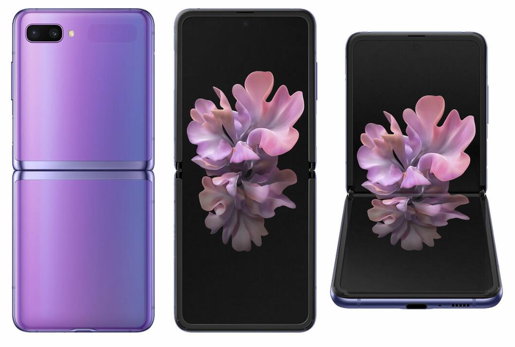Samsung Galaxy Z Flip - utseende.