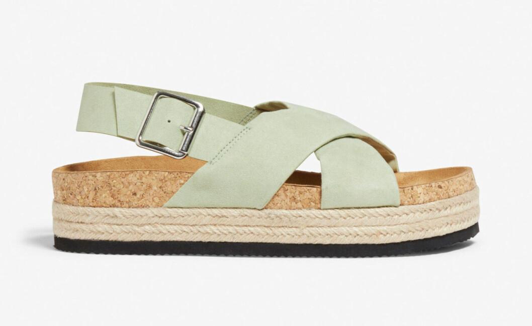 Gröna sandaler till budgetpris för dam till 2020