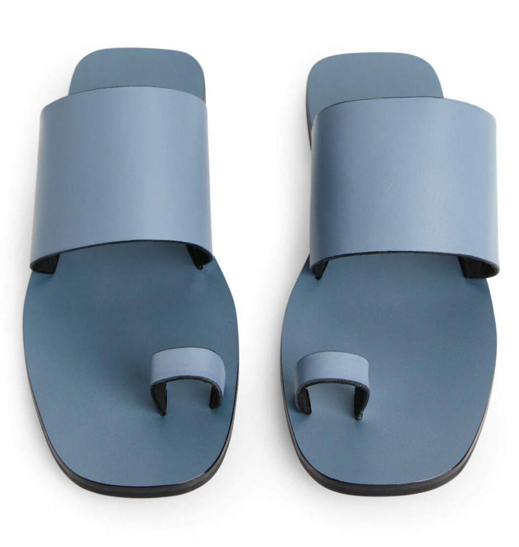Blå sandaler för dam till 2019