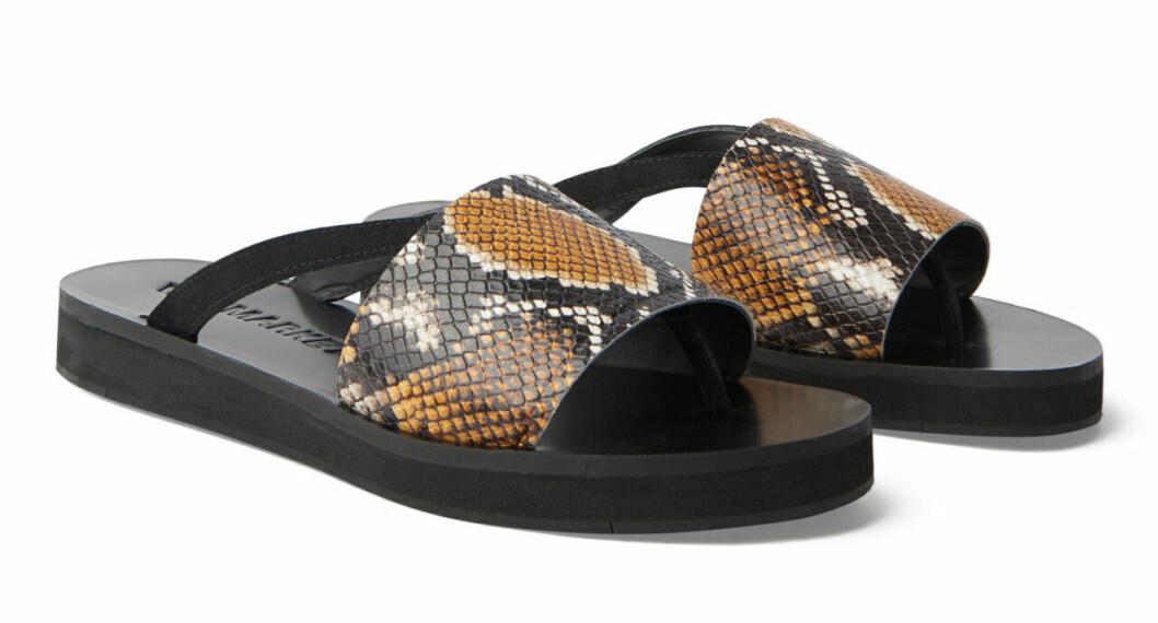Sandaler med tjock sula för dam till 2019