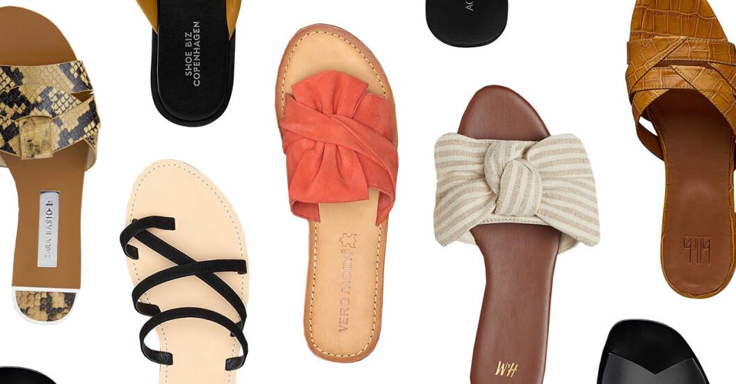 Sandaler för dam till sommaren 2019 i alla prisklasser
