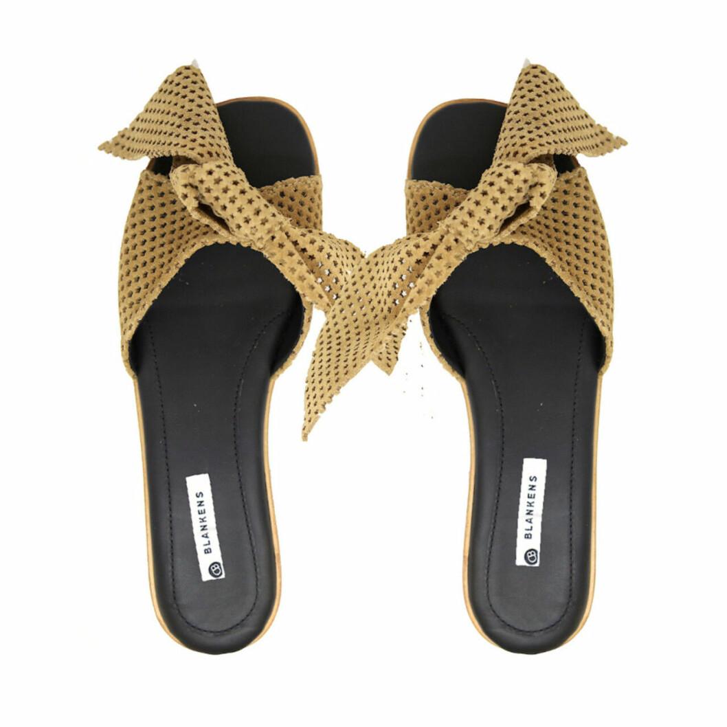 Gula sandaler för dam till sommaren 2019