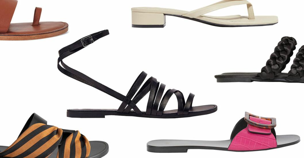 Sandaler för dam till sommaren 2020