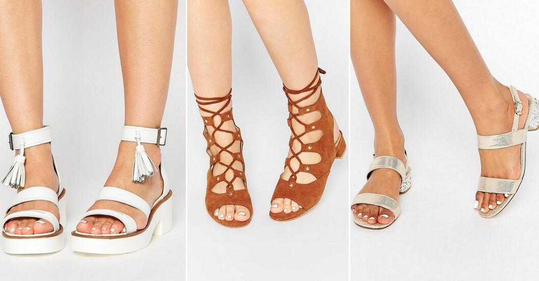 sandaler sommar 2016