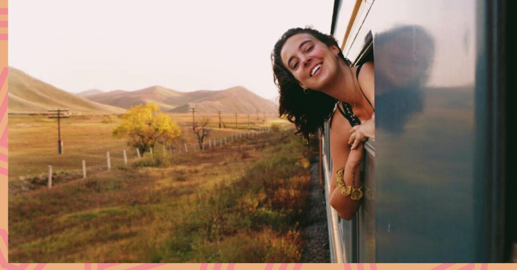 Sandra reste mellan Stockholm och Beijing med tåg
