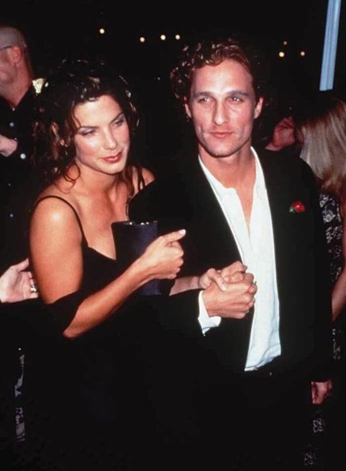 Sandra Bullock och Matthew McConaughey