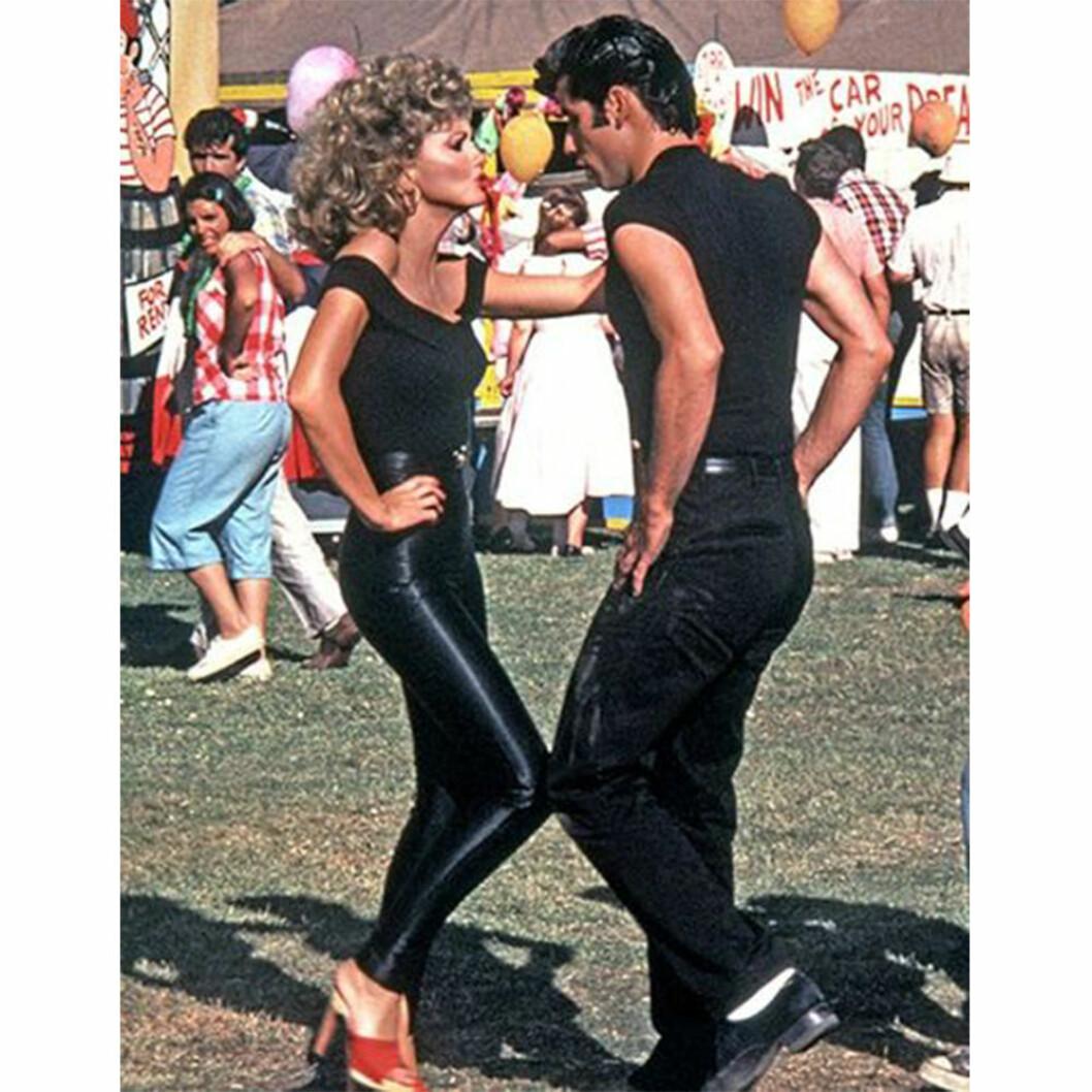 Sandy och Danny i Grease