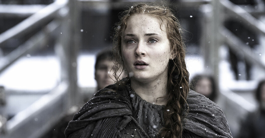 Sansa Stark i Game of Thrones säsong 8.