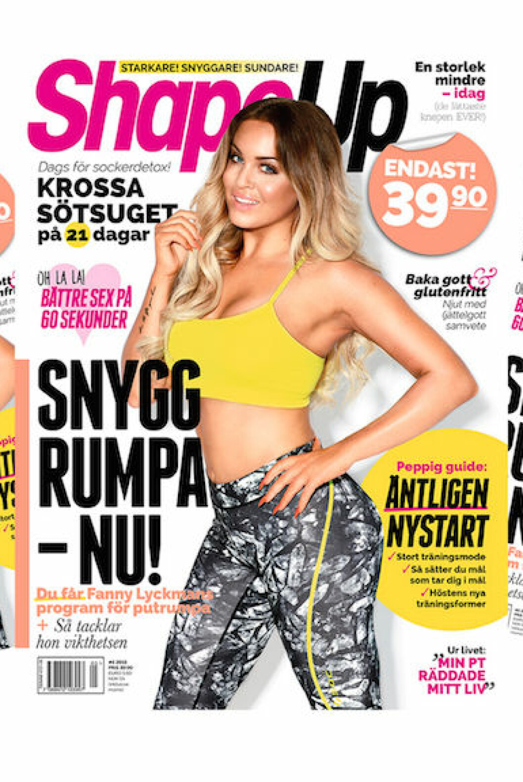 Sara Strand på Mercedes-Benz Fashion Week i Stockholm.