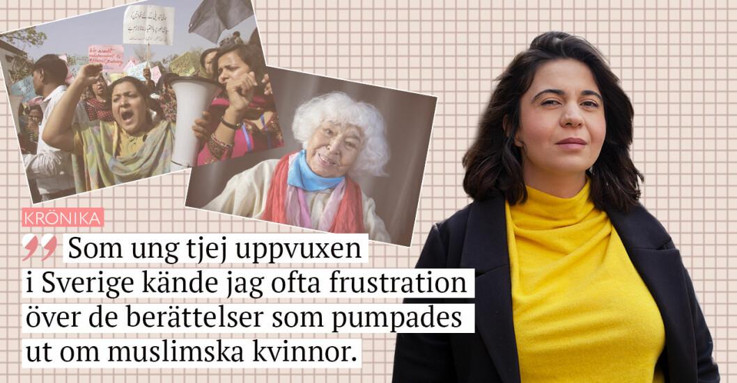 Sarah Delshad skriver om Muslim Women's Day i Baaam.