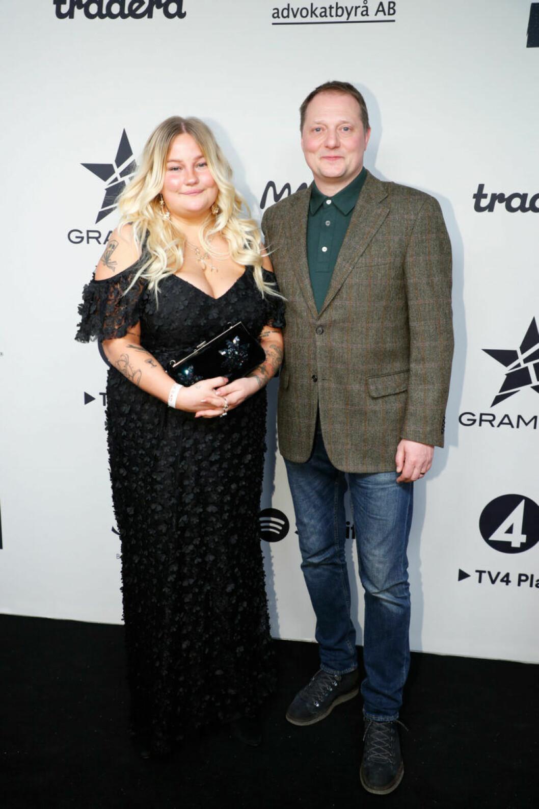 Sarah Klang och Magnus Carlson på Grammis 2019