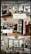 kenzas kollage på 3 bilder från nya lägenheten i vasastan