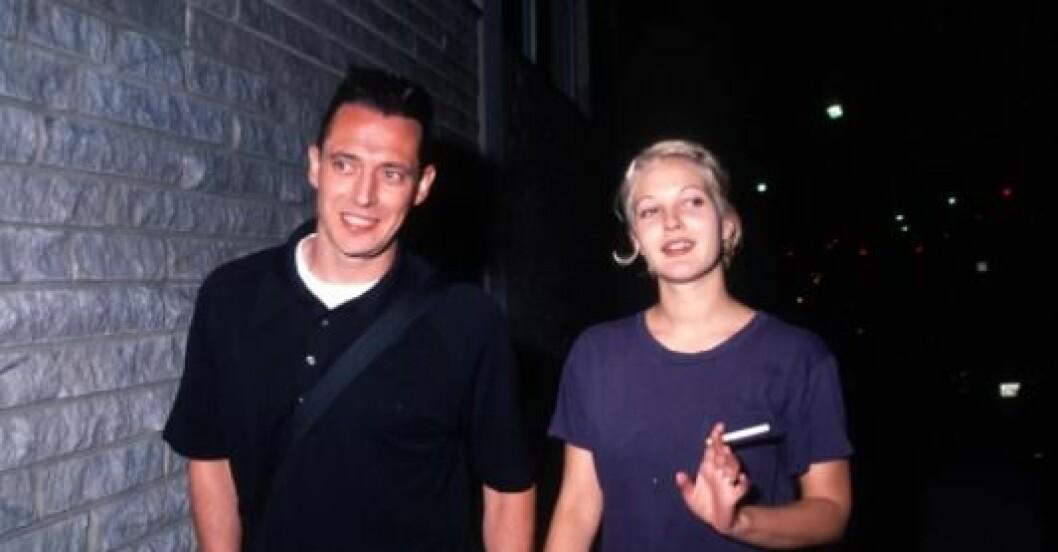 Drew Barrymore och Jeremy Thomas.