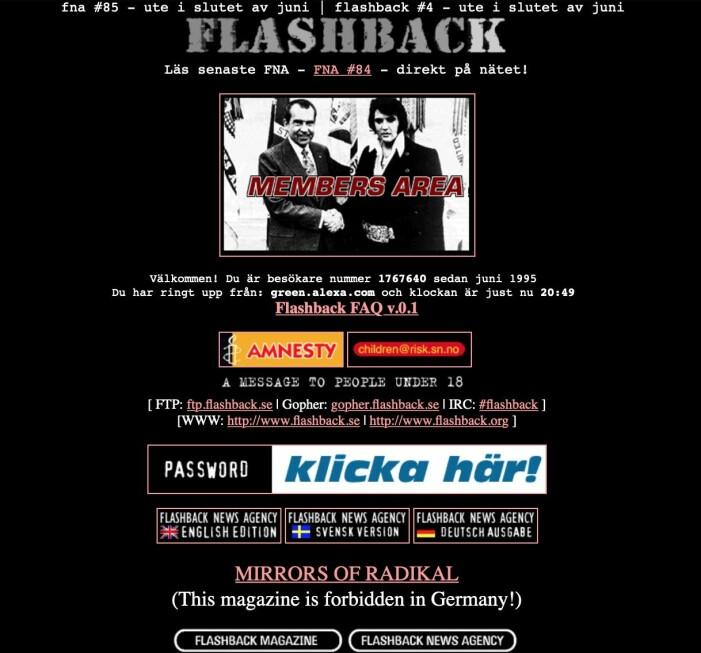 Flashback 90-tal