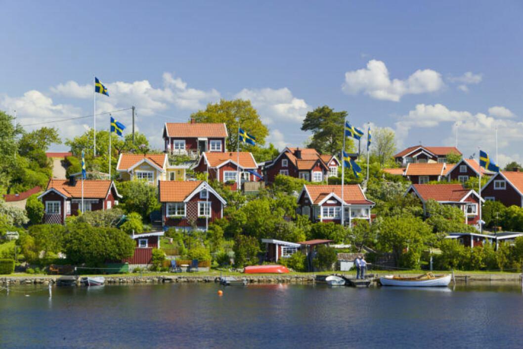 Svensk idyll i Karlskrona skärgård