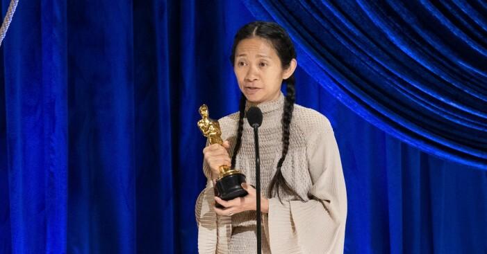 Chloé Zhaos tal efter vinsten