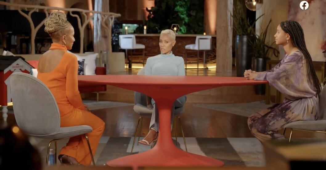 Red Table Talk är en amerikansk talkshow med Willow Smith, Jada Pinkett Smith och hennes mamma Adrienne Banfield-Norris, som hade premiär den 7 maj 2018 på Facebook Watch.