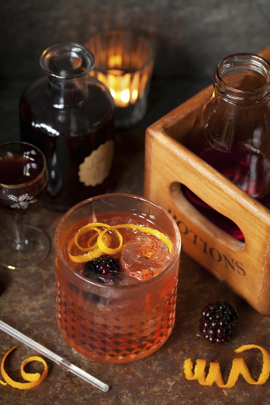 Gin med slånbär