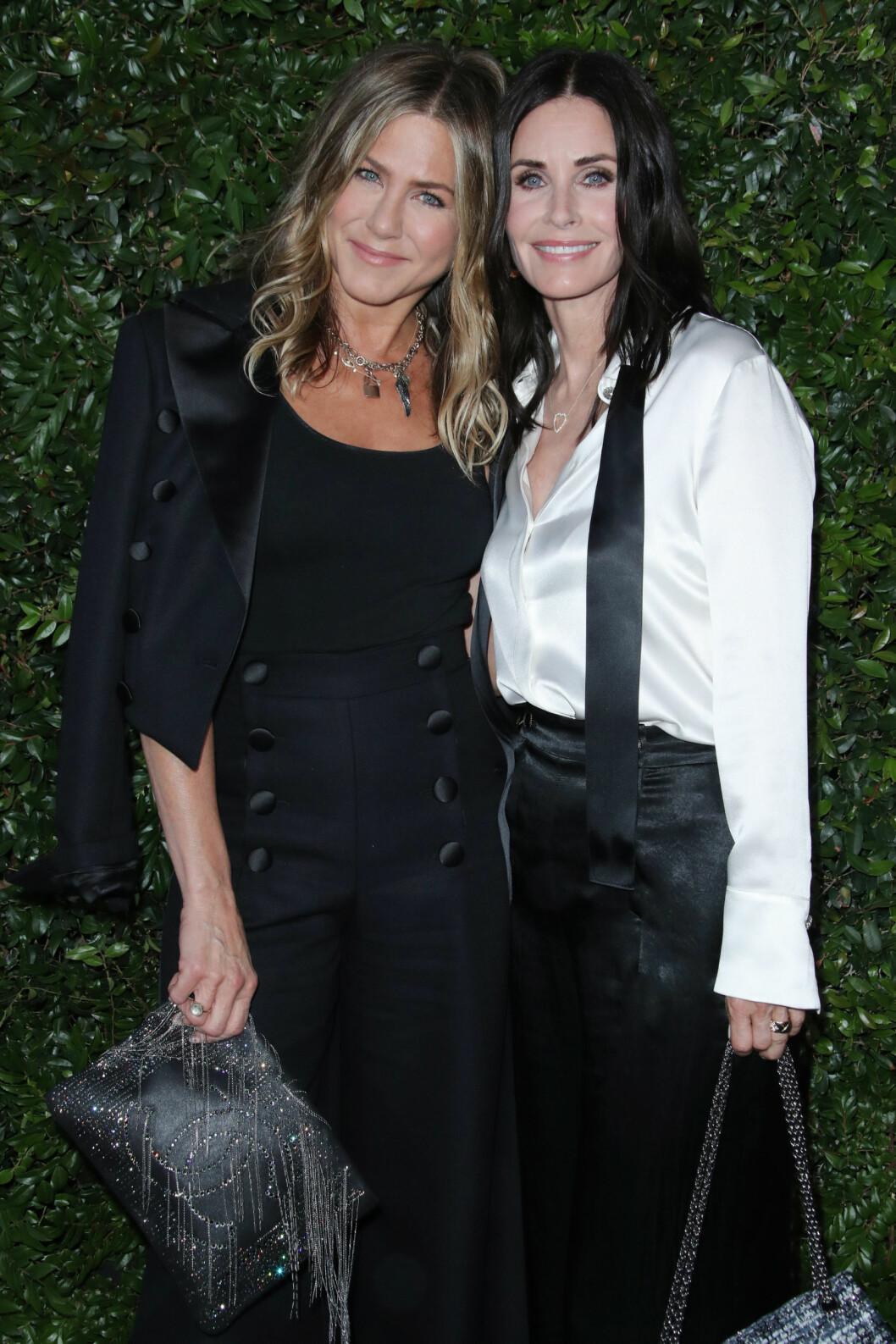 Jennifer Aniston och Courteney Cox