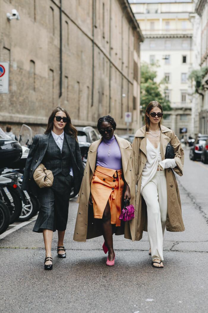 streetstyle från modeveckan