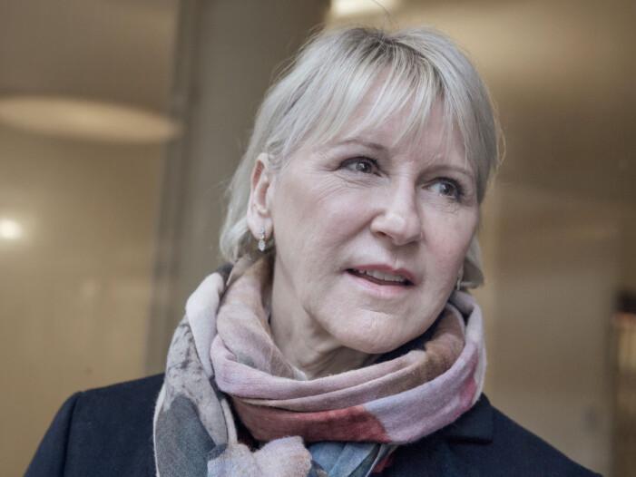 Margot Wallström om att undvika ordet kvinna