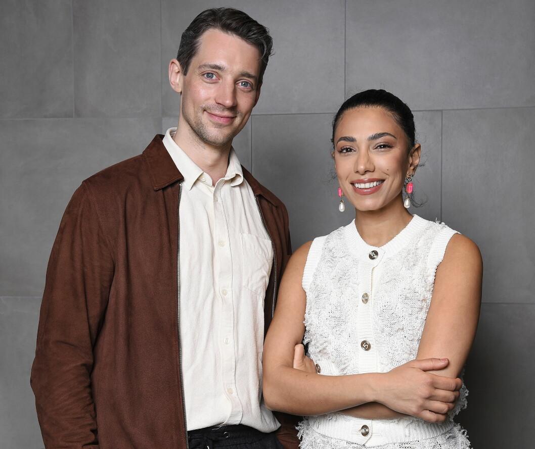 Adam Lundgren och Evin Ahmad spelar huvudpersonerna i Max Anger.