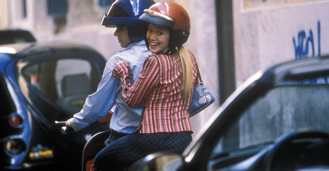 Hilary Duff som Lizzie McGuire 2003.