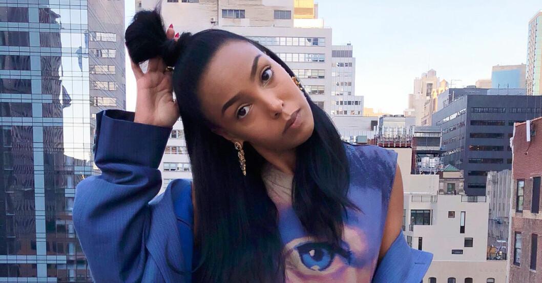 Selam Fessahaye vann Årets blickfång på Elle-galan.