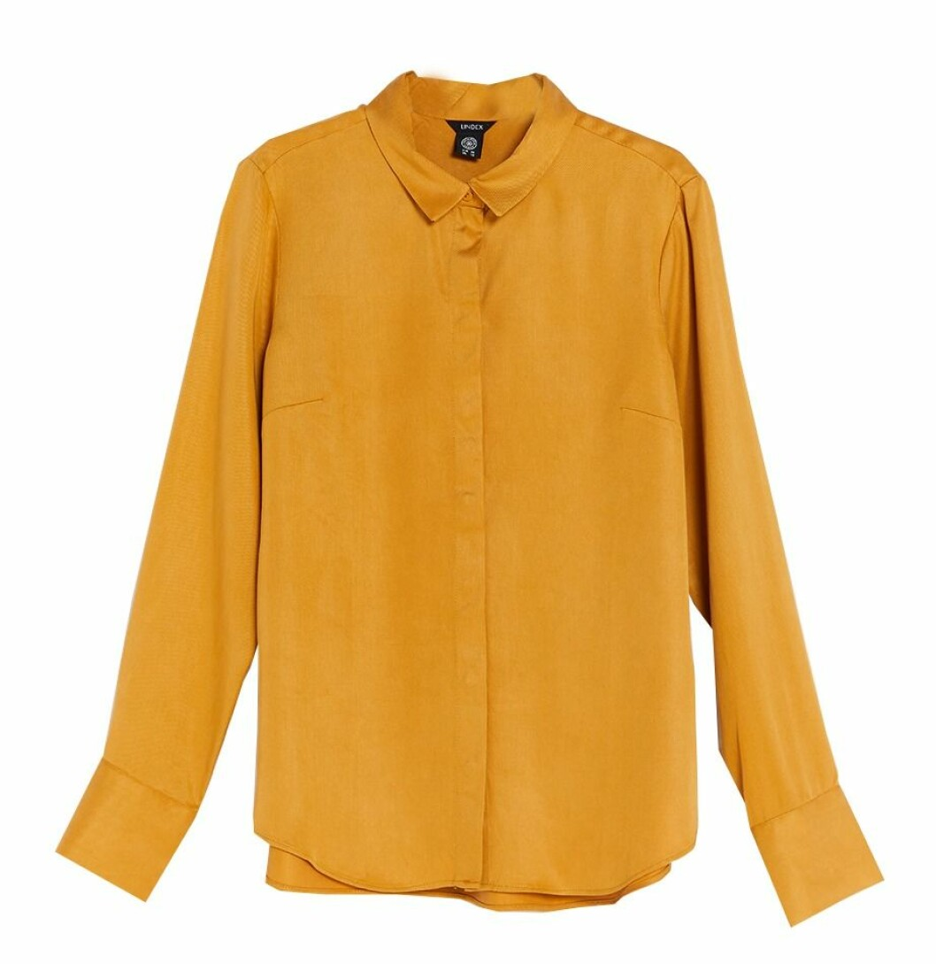 Senapsgul skjorta