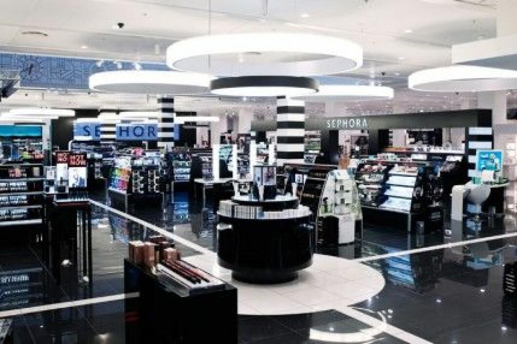 Sephora öppnade i Köpenhamn i maj 2012.