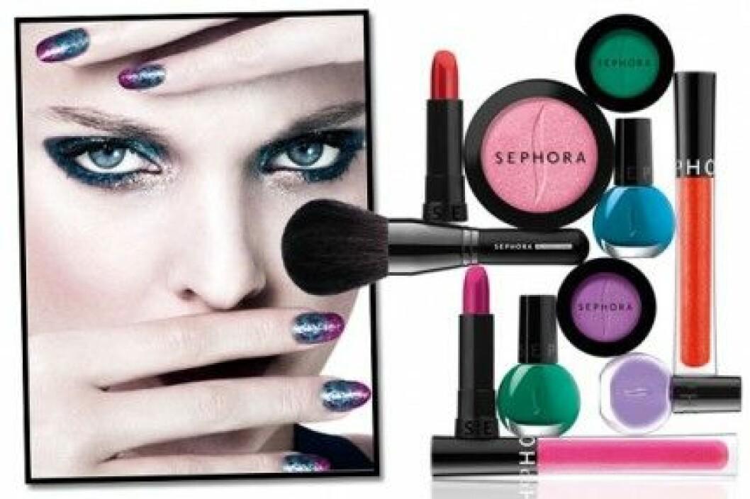 Sephora öppnar sin första svenska butik i Täby Centrum i oktober.